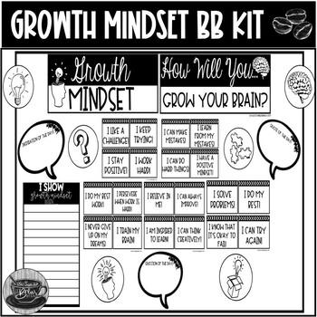Growth Mindset Mini Bulletin Board