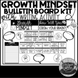 Growth Mindset Bulletin Board Kit and Writing Activity