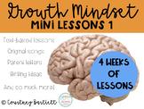 Growth Mindset Mini Lesson Bundle