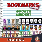 Growth Mindset Motivational Bookmarks