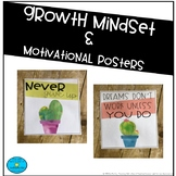 Growth Mindset & Motivational Posters