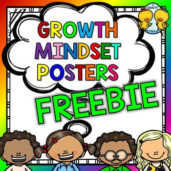 Growth Mindset Posters FREEBIE
