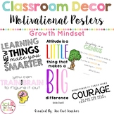 Growth Mindset Posters & Motivational Quotes