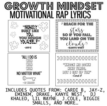 Growth Mindset Poster Motivational Rap Lyrics By The Cool Slp Tpt This song is by dj khaled, features nicki minaj and alicia keys and appears on the album grateful (2017). growth mindset poster motivational rap lyrics