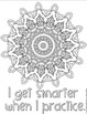 Growth Mindset Coloring Pages Growth Mindset Posters First Week of School
