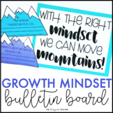 Growth Mindset Bulletin Board | Mountain Bulletin Board