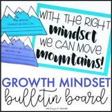 Growth Mindset Bulletin Board | Mountain Bulletin Board