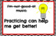 Growth Mindset Music Posters