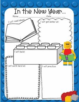 Growth Mindset New Year New You 2018 LEGO Like