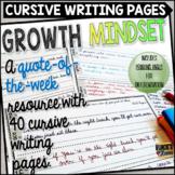 Cursive Handwriting Practice Printables