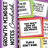 Growth Mindset Notes (Colorful Crosshatch)