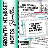 Growth Mindset Notes (Doodle Theme)