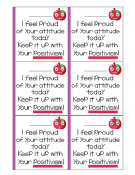 Growth Mindset Notes From the Teacher!
