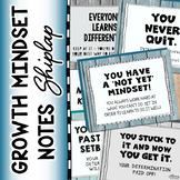 Growth Mindset Notes (Shiplap Theme)