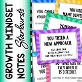 Growth Mindset Notes (Starburst Theme)