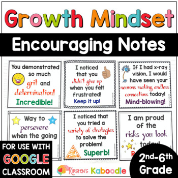 Growth Mindset: Notes from the Teacher