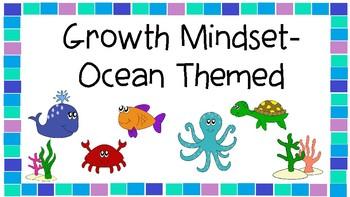 Growth Mindset- Ocean Themed