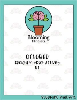 October Growth Mindset Activity