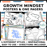 Growth Mindset One-Pagers and Posters