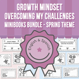 Growth Mindset - Overcoming My Challenges Minibooks BUNDLE
