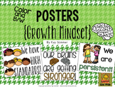 Growth Mindset POSTERS / Coloring Pages