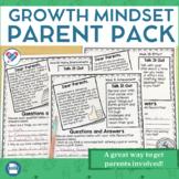 Growth Mindset Parent Pack
