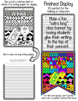 "Growth Mindset ""Pattern Pictures"": Growth Mindset Activity Banner"
