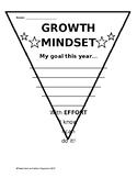 Growth Mindset Pennant