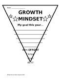 Growth Mindset Pennant