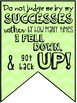 Growth Mindset Pennant Posters