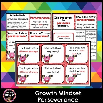 Growth Mindset Perseverance