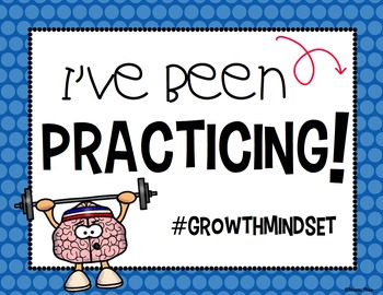 Growth Mindset Photo Booth Signs