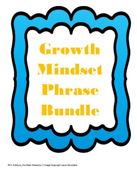 Growth Mindset Phrase Puzzles