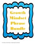 Growth Mindset Phrase Puzzles