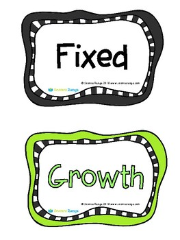 Growth Mindset Phrases