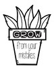 Growth Mindset Plant - Grow From Our Mistakes