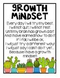 Growth Mindset Poem