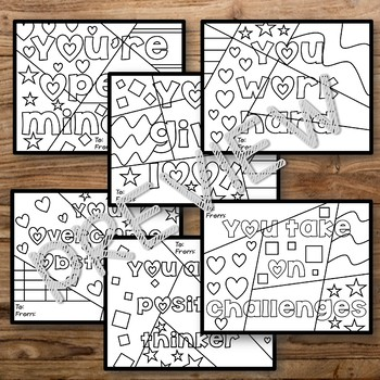Growth Mindset Positive Notes - Valentine's Day Edition