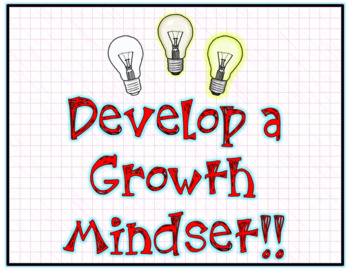 Growth Mindset (Positive Thinking) Posters SET #2