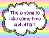 Growth Mindset Posters - Rainbow