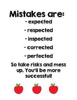 Growth Mindset Poster