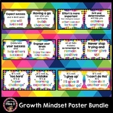 Growth Mindset Posters Bundle BTSdownunder