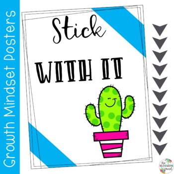 Growth Mindset Posters {Cactus}