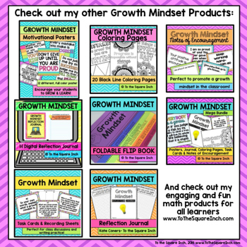 Growth Mindset Poster FREE