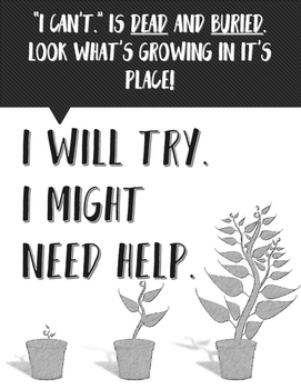 Growth Mindset Poster Freeie