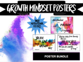 Growth Mindset Poster Pack - Coloured Smoke Theme - Back t