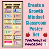 Growth Mindset (Poster Set)