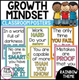 Growth Mindset Poster Set - Classroom Decoration