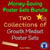 Growth Mindset Poster Sets Bundle
