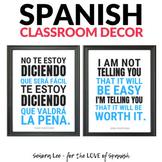 Growth Mindset Poster - Spanish / English - Worth It